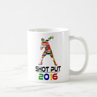 2016: Shotput Taza Básica Blanca