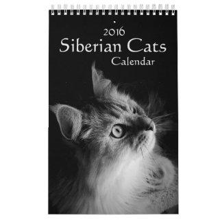 2016 Siberian Cats Calendar