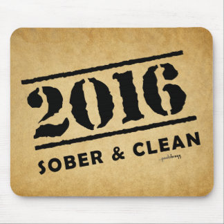 2016: Sober and Clean Mouse Pad
