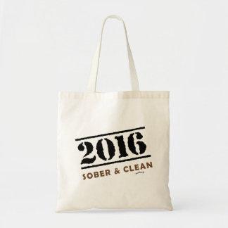 2016: Sober and Clean Tote Bag
