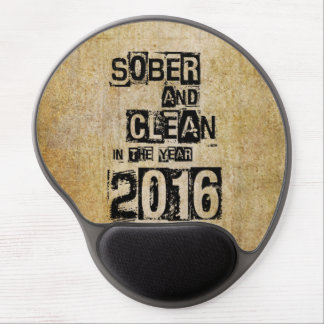 2016: Sober & Clean (12 step drug & alcohol free) Gel Mouse Pad