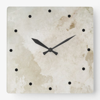 2016: Sober & Clean (12 step drug & alcohol free) Square Wall Clock