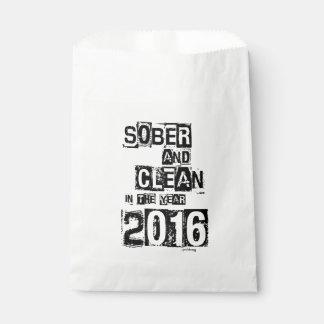 2016: Sobrio y limpio (droga de 12 pasos y sin Bolsa De Papel