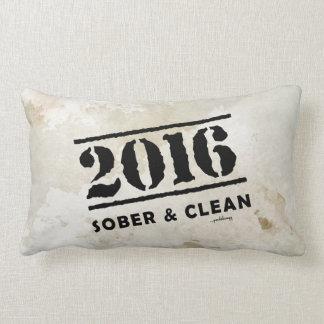 2016: Sobrio y limpio (droga de 12 pasos y sin Cojin