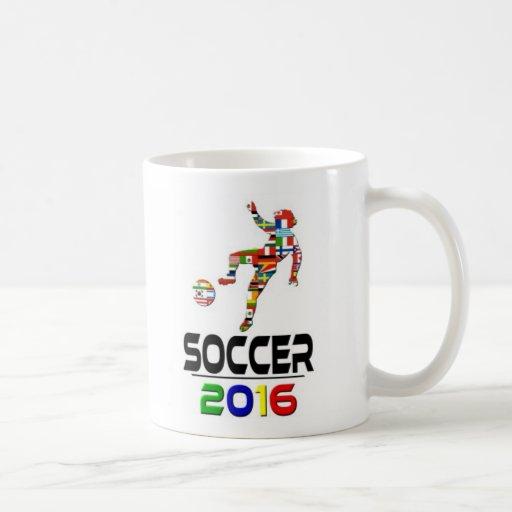 2016:Soccer Coffee Mug