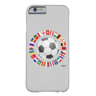2016 Soccer Football European Championship Barely There iPhone 6 Case