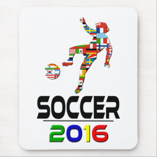 2016:Soccer Mouse Pad