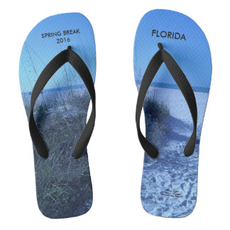 2016 SPRING BREAK FLORIDA BEACH SCENE FLIP FLOPS