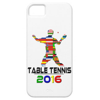 2016 Table Tennis iPhone 5 Cases
