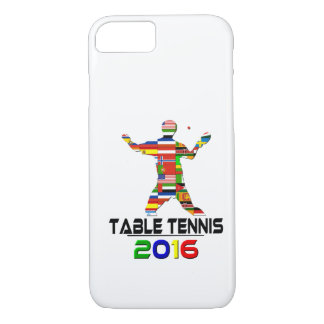 2016: Table Tennis iPhone 8/7 Case