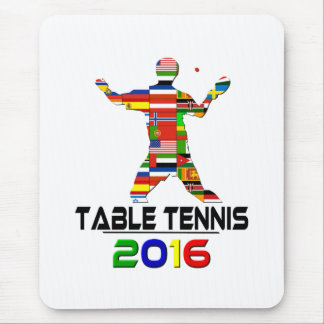 2016:Table Tennis Mouse Pad