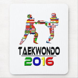 2016:Taekwondo Mouse Pad
