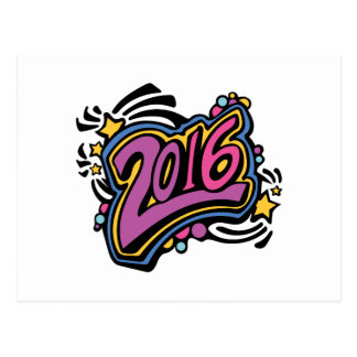 2016 TARJETA POSTAL
