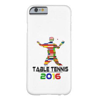 2016: Tenis de mesa Funda De iPhone 6 Barely There