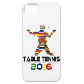 2016 Tenis de mesa iPhone 5 Case-Mate Cobertura