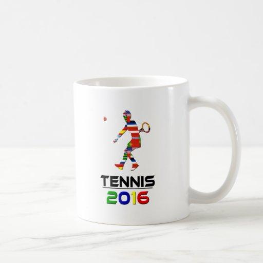 2016: Tenis Tazas De Café