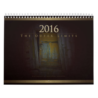2016 The Outer Limits: Doors - Calendar
