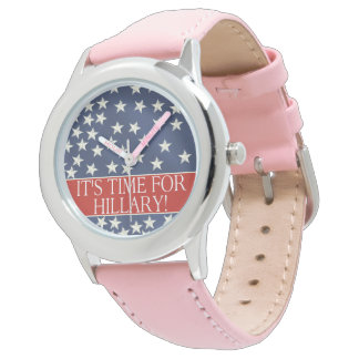 2016 Time for Hillary Wrist Watch