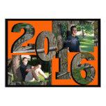 2016 Tree Camo Twin Photo Hunter Orange Card