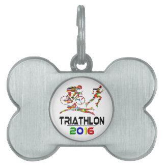 2016 Triathlon Placas Mascota