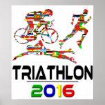 2016: Triathlon Poster