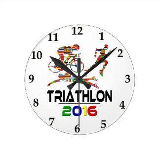 2016: Triathlon Round Clock