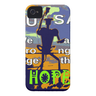 2016 US election Hillary Clinton hope Stronger Tog iPhone 4 Case