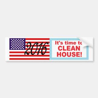 2016 US Presidential Election Bumper Sticker