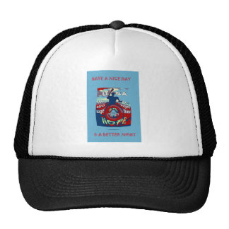 2016 USA Have a Nice Day Hillary Stronger Together Trucker Hat