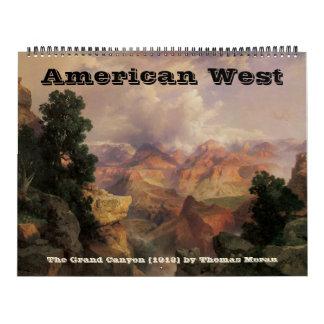 2016 vidas del oeste del vintage, occidentales calendarios de pared