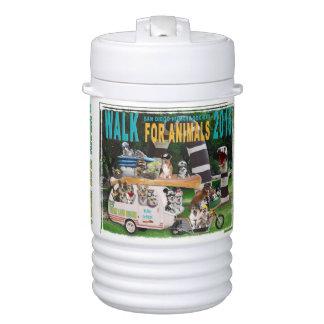 2016 Walk for Animals Beverage Cooler, One Quart Beverage Cooler