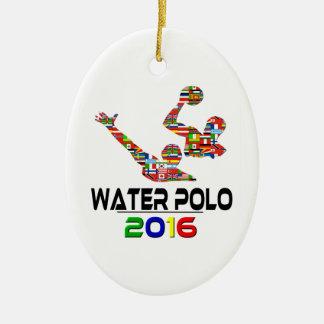 2016: Water Polo Ceramic Ornament
