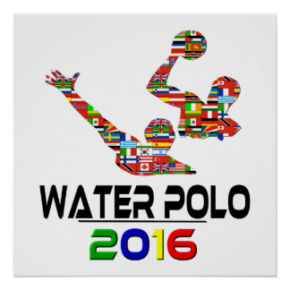 2016: Water polo Posters