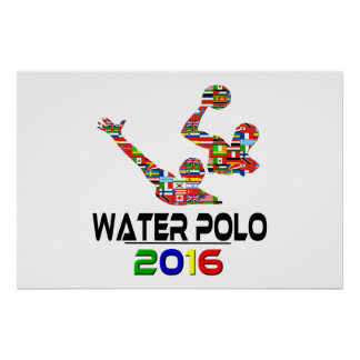 2016: Water polo Poster