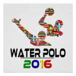 2016: Water polo Póster