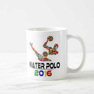 2016: Water polo Taza Básica Blanca