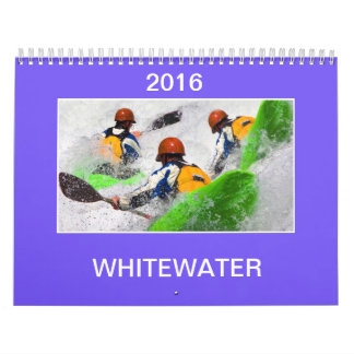 2016 Whitewater Kayaking Calendar