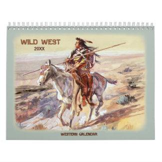 2016 Wild West Calendar