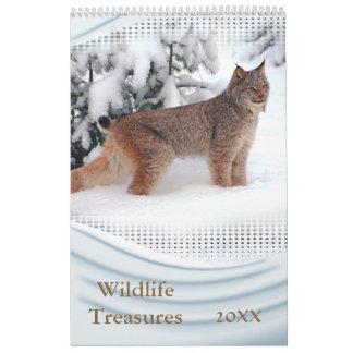 2016 Wildlife Treasures Wall Calendar