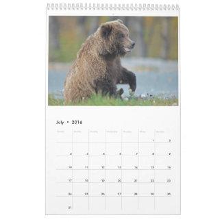 2016 Wildlife Wall Calendar - Birds and Mammals
