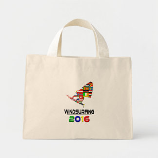 2016:Windsurfing Mini Tote Bag
