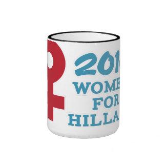 2016 Women for Hillary Ringer Coffee Mug