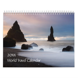 2016 World Travel Calendar
