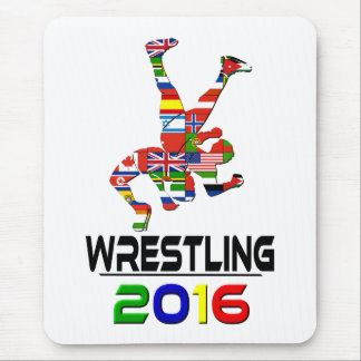 2016: Wrestling Mouse Pad