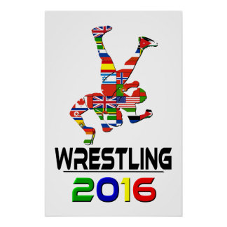2016: Wrestling Poster