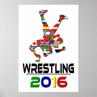 2016:Wrestling Poster