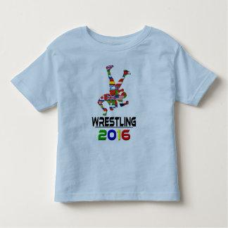 2016: Wrestling Toddler T-shirt