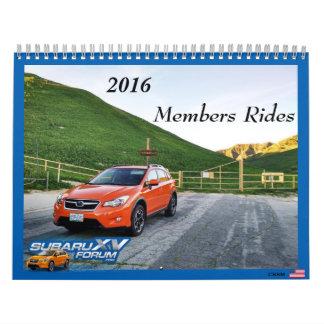 2016 www.subaruxvforum.com Calendar