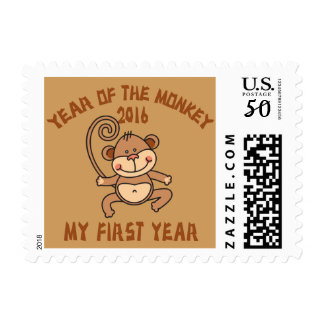 2016 Year of The Monkey Baby 2016 Postage