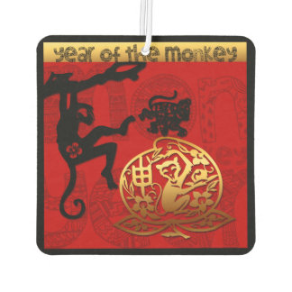 2016 Year of The Monkey Chinese New Year Air F Car Air Freshener